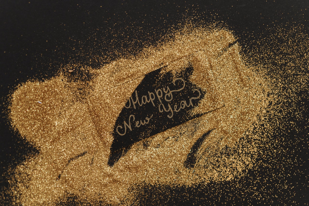 Happy New Year in Gold - Jean-Francois de Clermont-Tonnerre