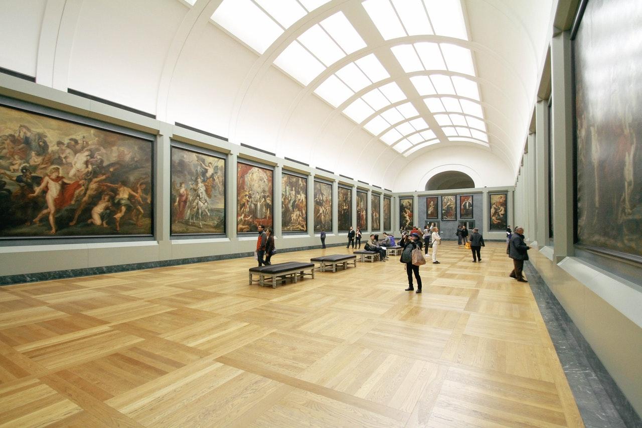 Art museum inside - Jean-Francois de Clermont-Tonnerre
