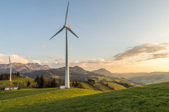 Wind turbine in mountains - Jean-Francois de Clermont-Tonnerre